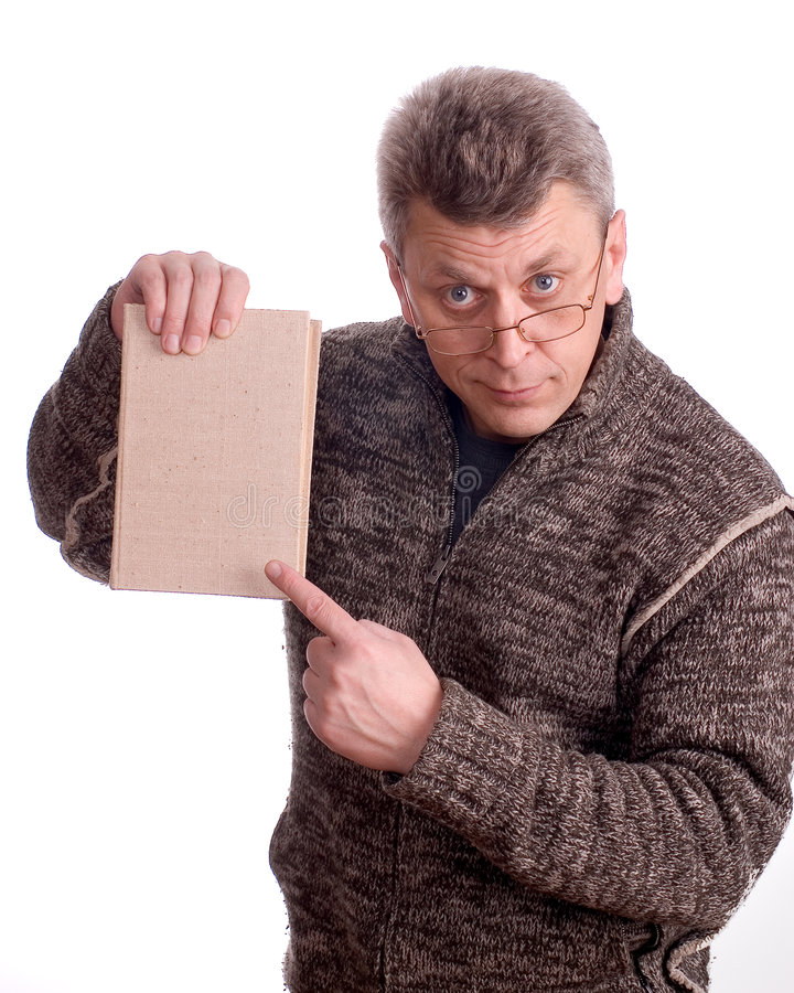 Free The Man With The Book Royalty Free Stock Image - 2199816