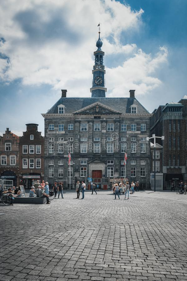 Free The Medieval Town Hall Of `s-Hertogenbosch In The Netherlands Royalty Free Stock Photos - 157931338