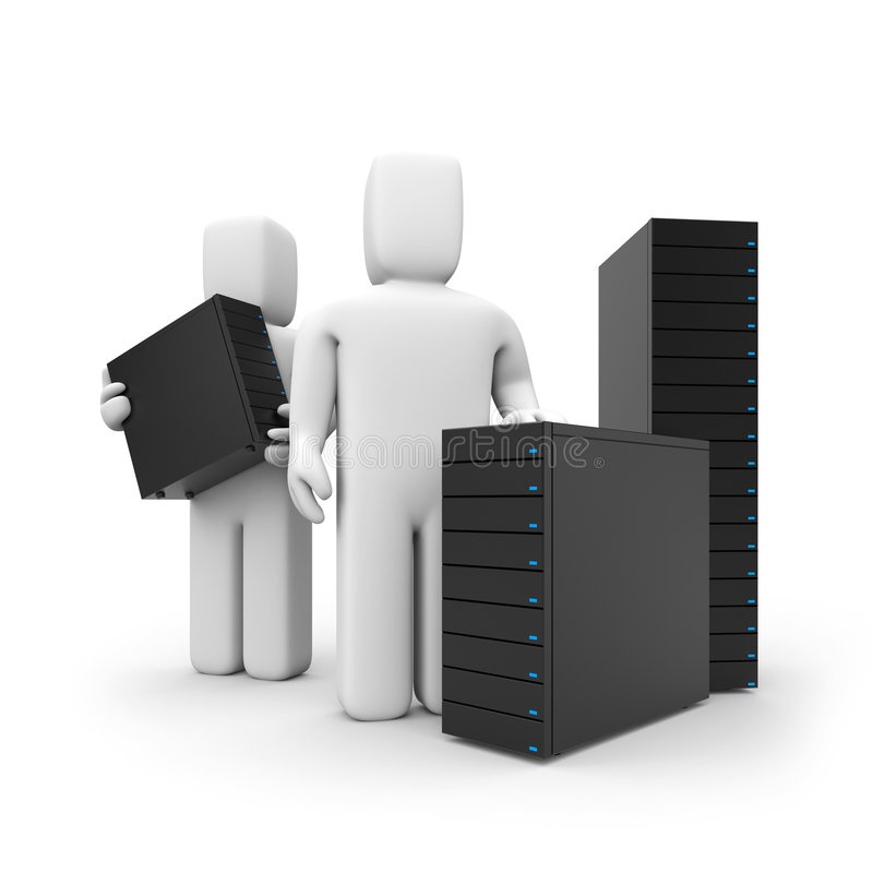 Free The Offer Of Server Services Royalty Free Stock Image - 6193536
