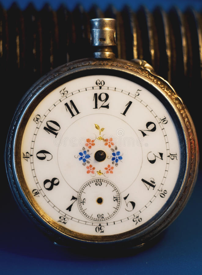 Free The Old Dial Pocket Watch Royalty Free Stock Photos - 11653158