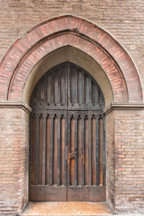 Free The Old Medieval Door Royalty Free Stock Images - 129251379