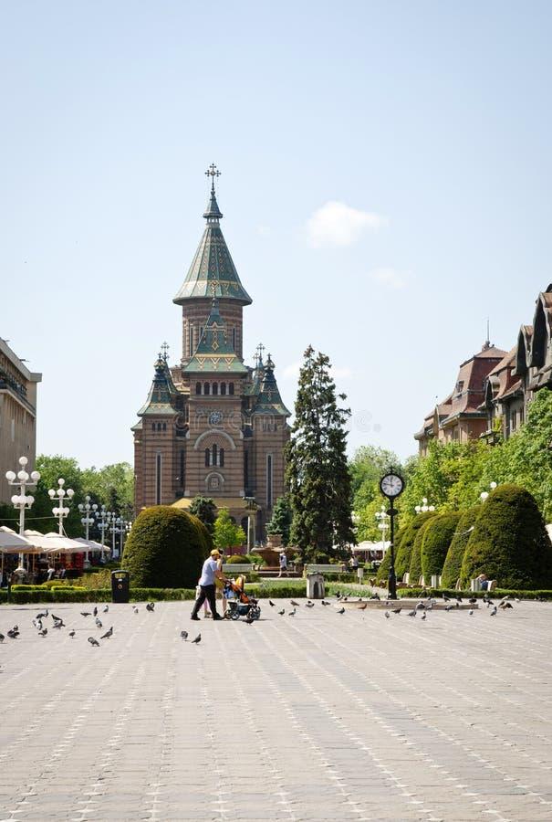 Free The Orthodox Cathedral Of Timisoara, Romania Stock Photography - 31511332