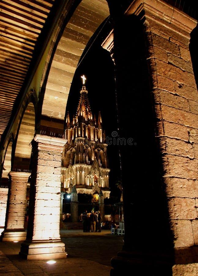 Free The Parroquia Church, San Miguel De Allende, Guanajuato, Mexico Royalty Free Stock Photo - 1738935