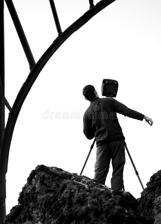 Free The Photographer At Work Stock Photos - 973203