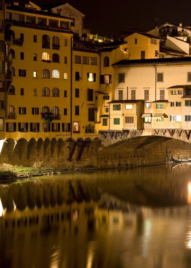 Free The Ponte Vecchio By Night Stock Photos - 2842283