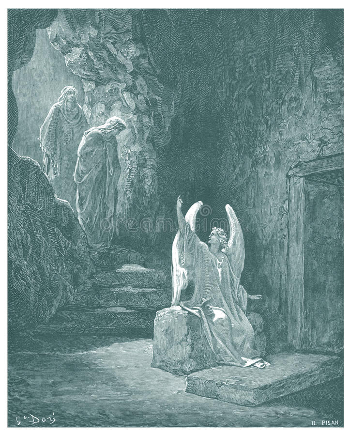 Free The Resurrection Of Jesus Illustration Royalty Free Stock Photo - 31894595