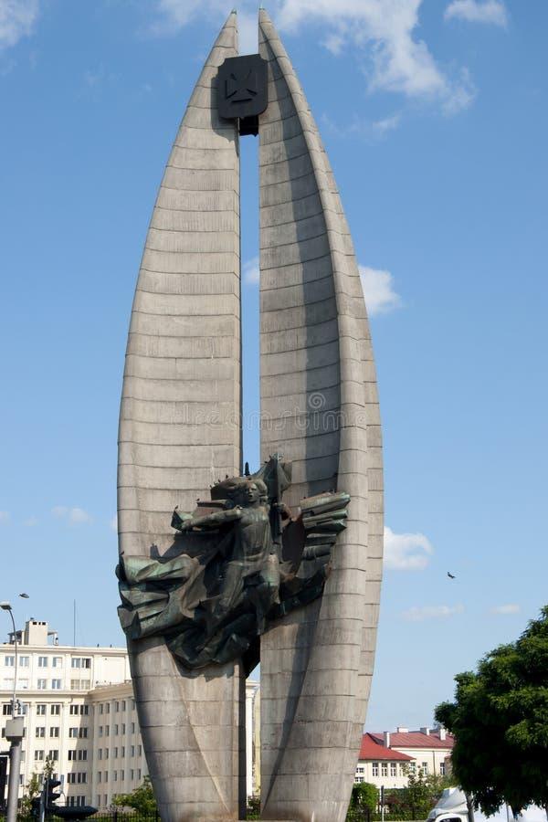 Free The Revolution Monument - Rzeszow - Poland Stock Photo - 91732850