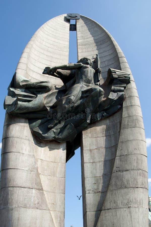 Free The Revolution Monument - Rzeszow - Poland Royalty Free Stock Photos - 91732948