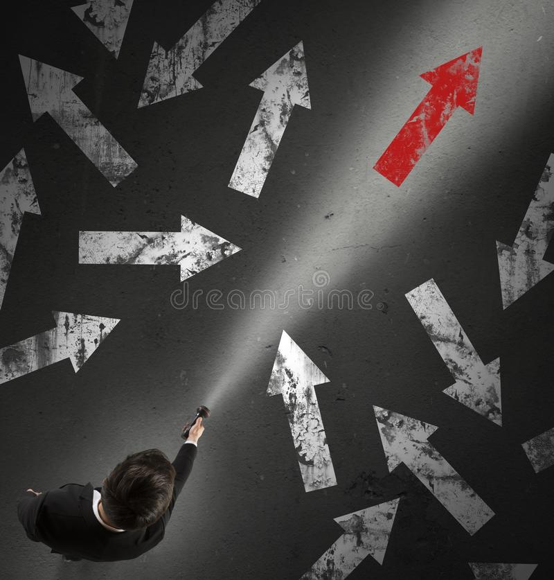 Free The Right Direction Stock Photo - 55162730