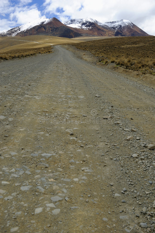 Free The Road To Chacaltaya, La Paz, Bolivia Royalty Free Stock Images - 7714289
