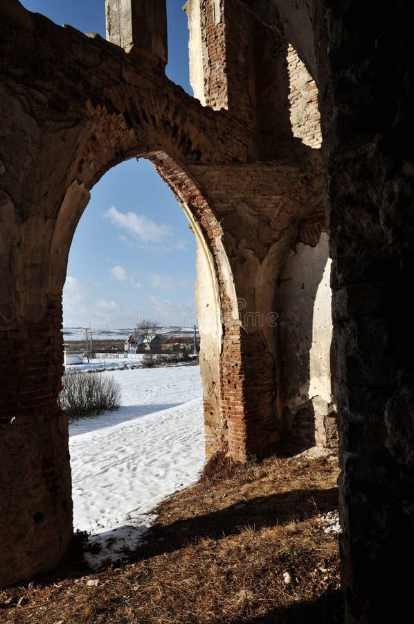Free The Ruins Of Banffy Castle In Bontida, Romania Stock Photos - 22970423