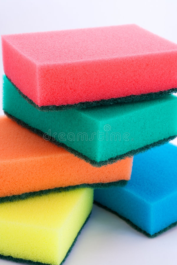Free The Set Of Sponges Royalty Free Stock Images - 1731709