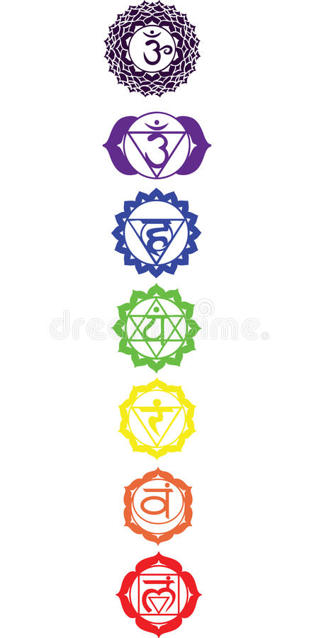 Free The Seven Chakras Stock Photos - 12586903