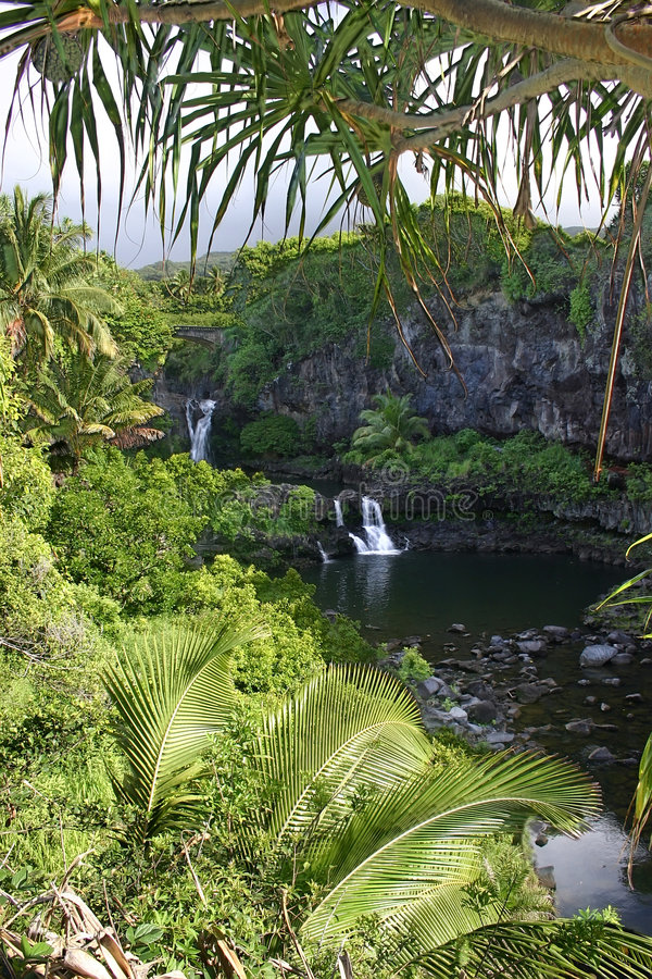 Free The Seven Sacred Pools, Maui Island, Hawaii Stock Photography - 272102