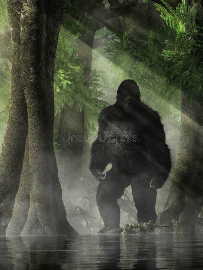 Free The Skunk Ape Stock Image - 153031171