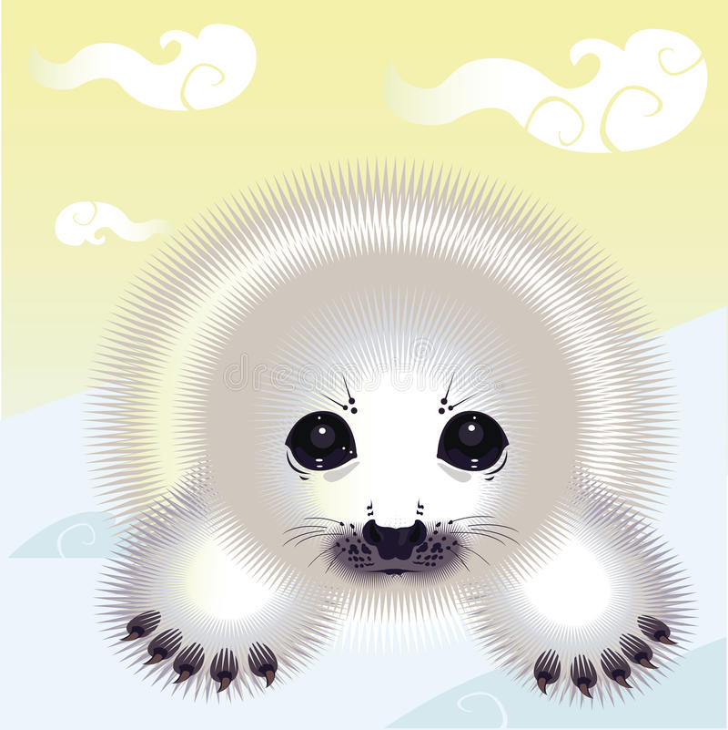 Free The Snow Seal Stock Photos - 30072953