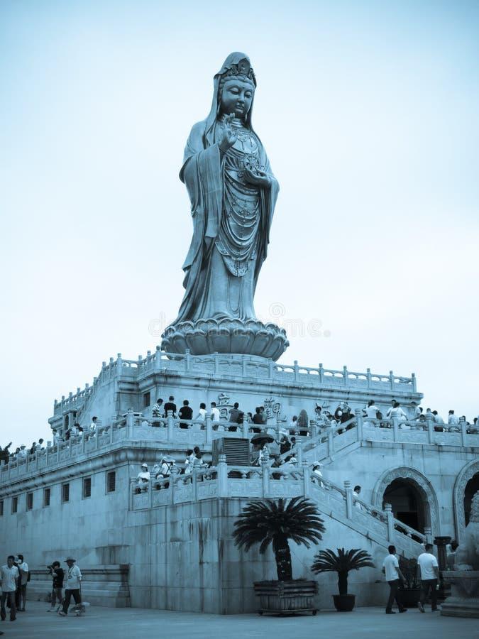 Free The South China Sea A Buddism Goddess Guanyin Stock Photography - 58468962