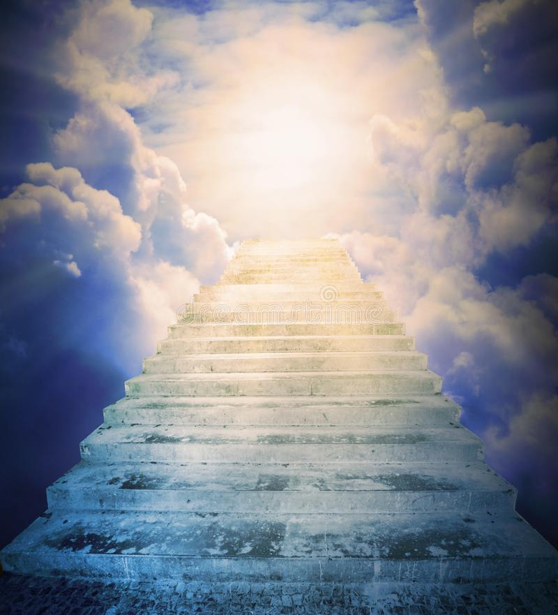 Free The Stairs To Heaven. Stock Photos - 114370543