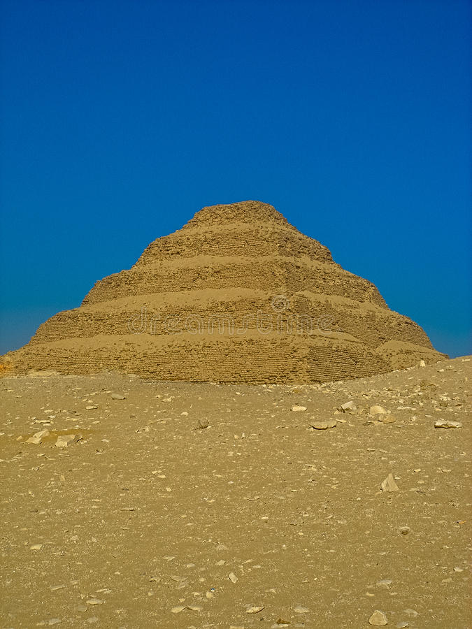 Free The Step Pyramid Of Djoser Stock Images - 47134954