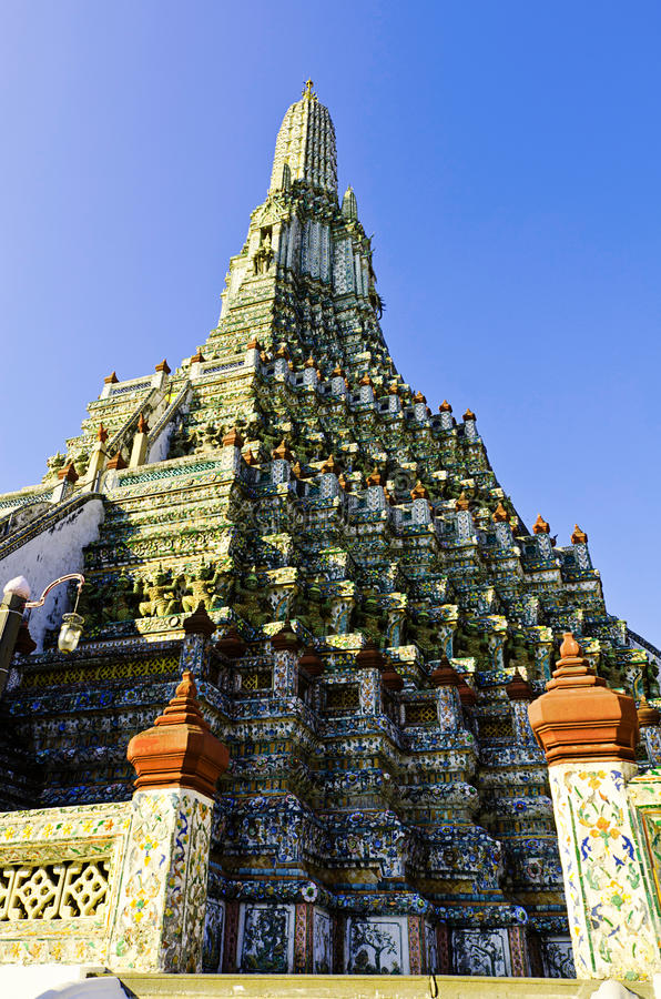 Free The Stupa In The Temple Near The River Ad Thailand Royalty Free Stock Photo - 22452145