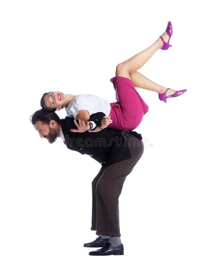 Free The Swing Dancing Royalty Free Stock Photography - 171484427