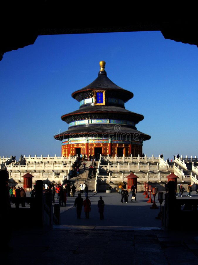 Free The Temple Of Heaven Stock Images - 5640694