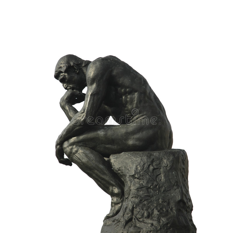 Free The Thinker Royalty Free Stock Photography - 1836017