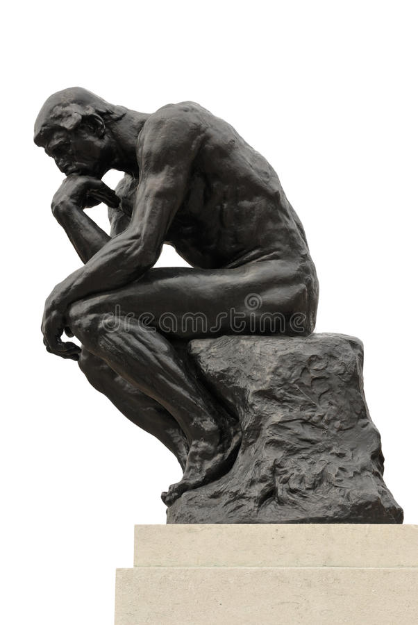 Free The Thinker Royalty Free Stock Image - 19705186