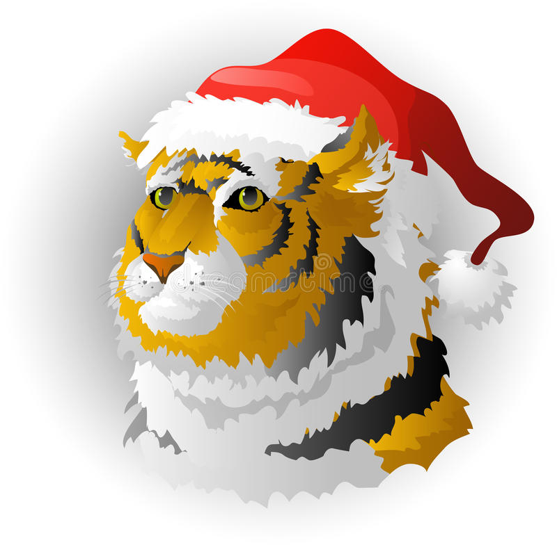 Free The Tiger - A Symbol Of 2010 Stock Photos - 11901353