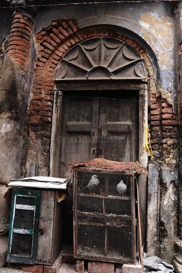 Free The Traditional Door Of Old Kolkata Royalty Free Stock Photos - 13578888