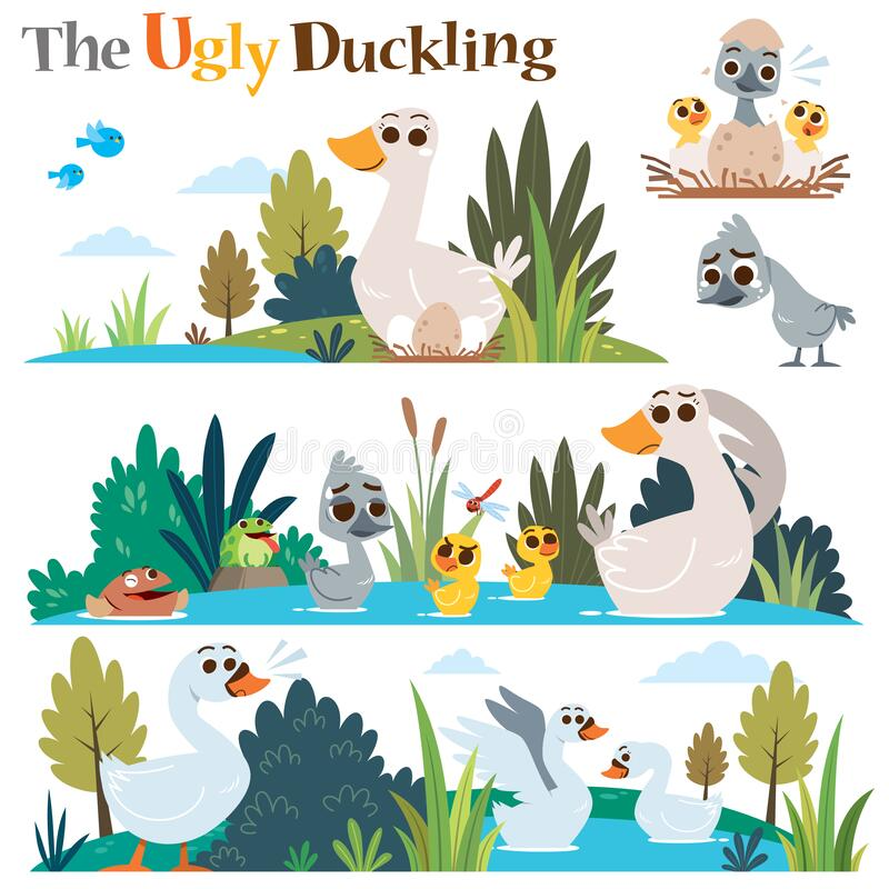 Free The Ugly Duckling Royalty Free Stock Photo - 194450595