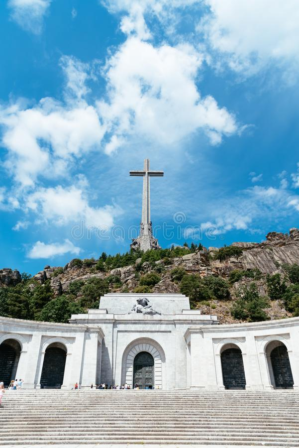 Free The Valley Of The Fallen Against Sky Royalty Free Stock Photos - 141064028