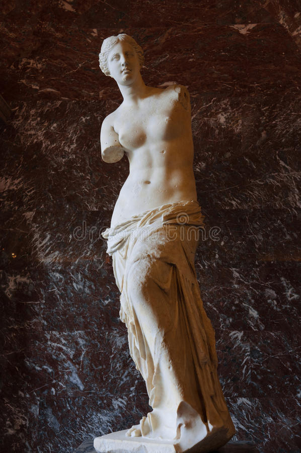 Free The Venus Statue On Display Royalty Free Stock Photography - 43967257