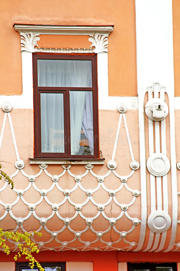 Free The View Of Part Of The Former Hotel Bristol, Chernivtsi, Ukraine Stock Photography - 92810352