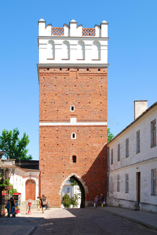 Free The View Of Sandomierz, Poland Royalty Free Stock Photography - 19839637