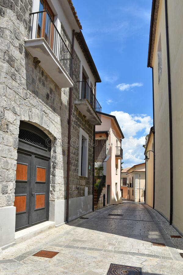 Free The Village Of Ruviano On The Hills Of The Province Of Caserta, Italy Royalty Free Stock Photo - 182019435