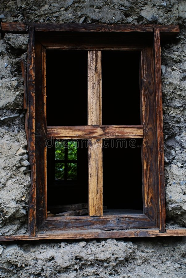 Free The Window Of The Dulong Nationality S House Royalty Free Stock Photos - 6136728