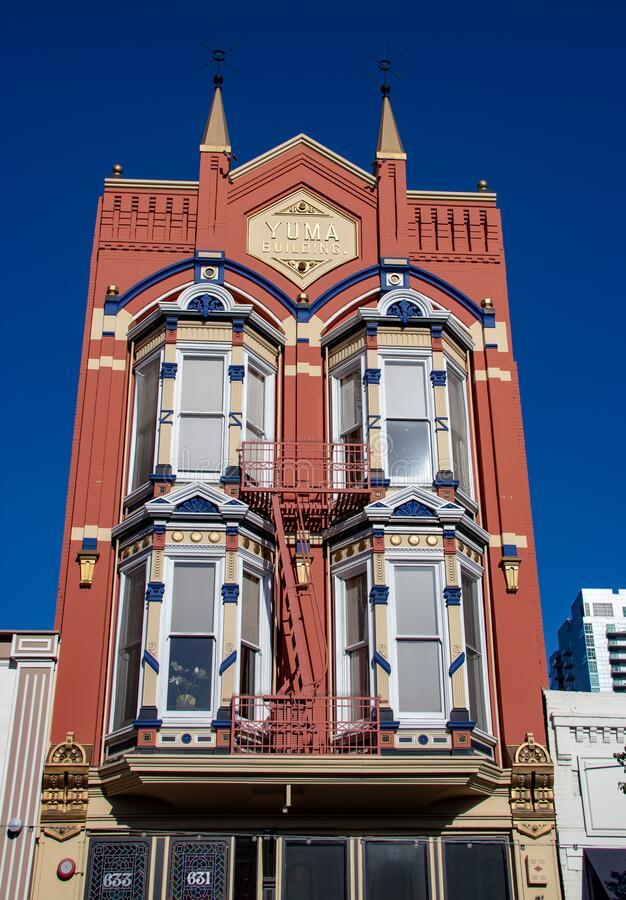 Free The Yuma Building Along The Streets Of San Diego Royalty Free Stock Image - 172942326