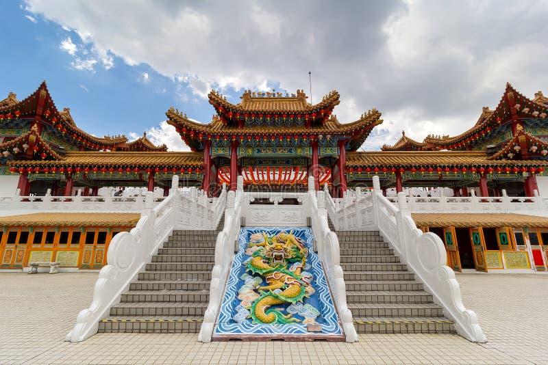 Thean Hou świątyni podwórze obraz royalty free