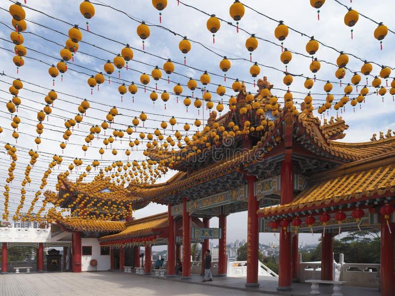 Thean Hou Chińska świątynia Kuala Lumpur, Malezja - zdjęcia royalty free