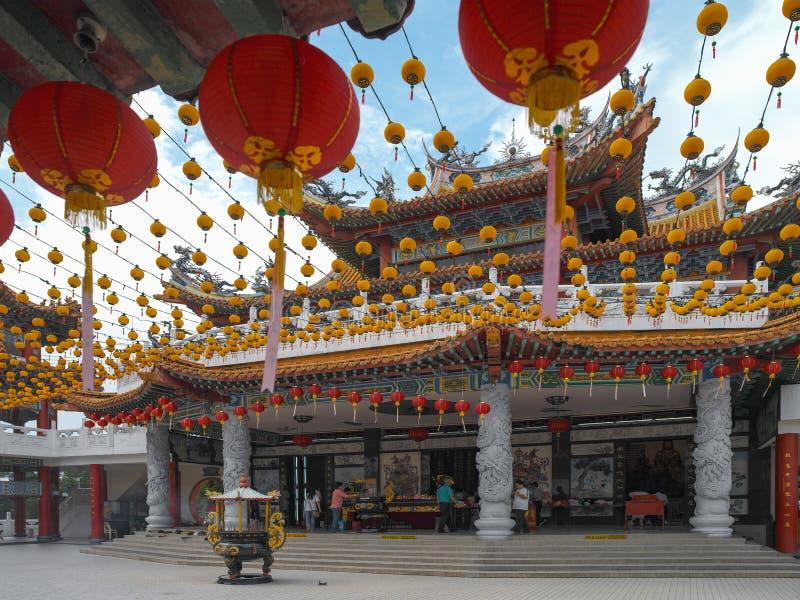 Thean Hou Chińska świątynia Kuala Lumpur, Malezja - obraz royalty free