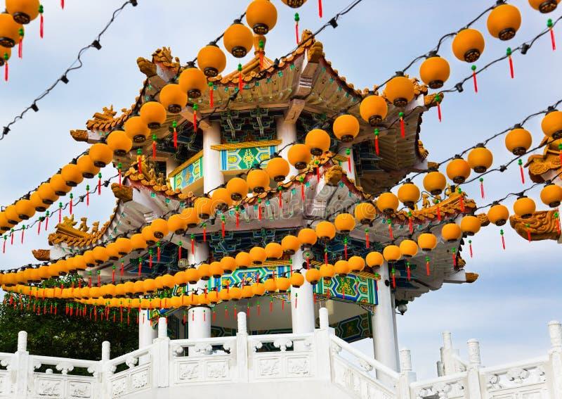 Thean Hou Tempel in Kuala Lumpur Malaysia lizenzfreie stockfotografie