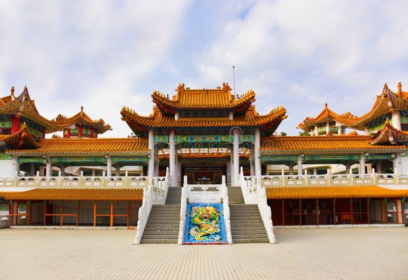 Thean Hou Tempel in Kuala Lumpur Malaysia stockbilder