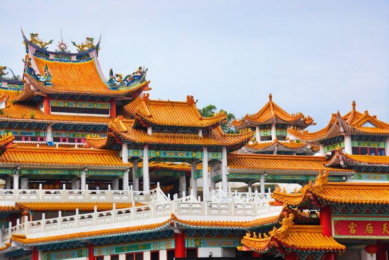 Thean Hou Tempel in Kuala Lumpur Malaysia lizenzfreie stockbilder