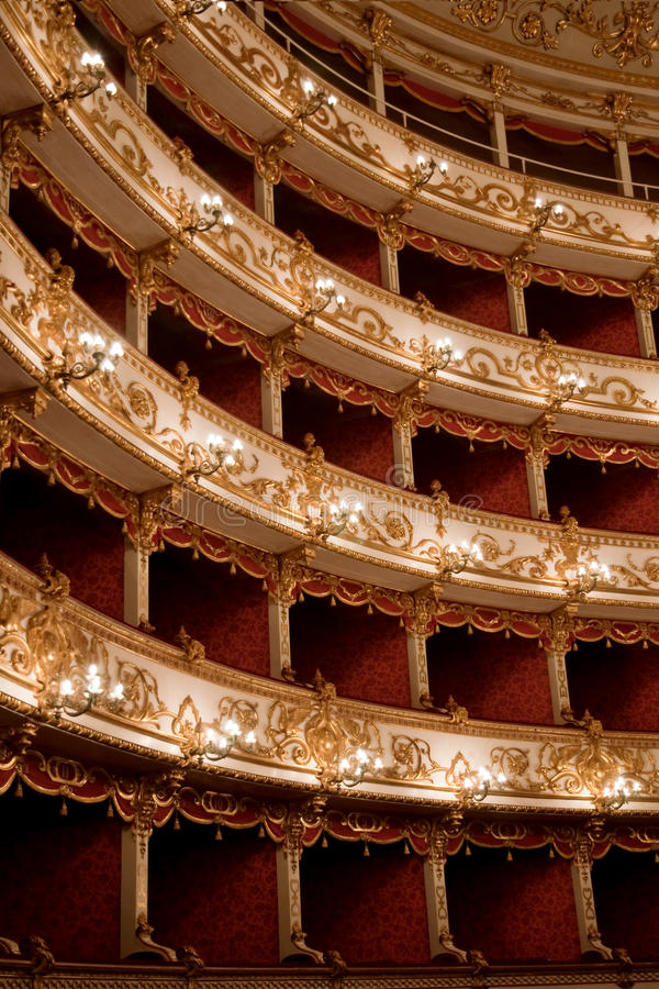 Download Theater stock image. Image of comfortable, emilia, europe - 17560241