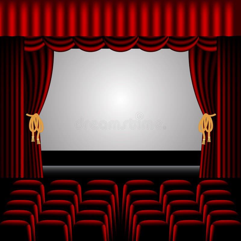 Theater vector illustratie