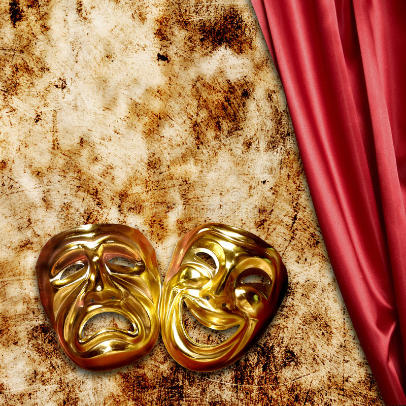 Download Theater stock image. Image of conceptual, comedy, masks - 20490119