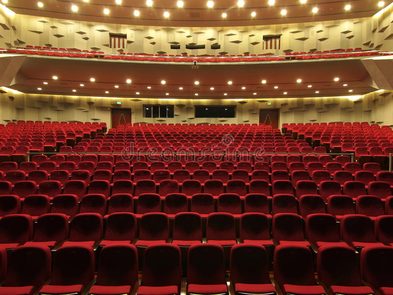 Theater royalty free stock photography