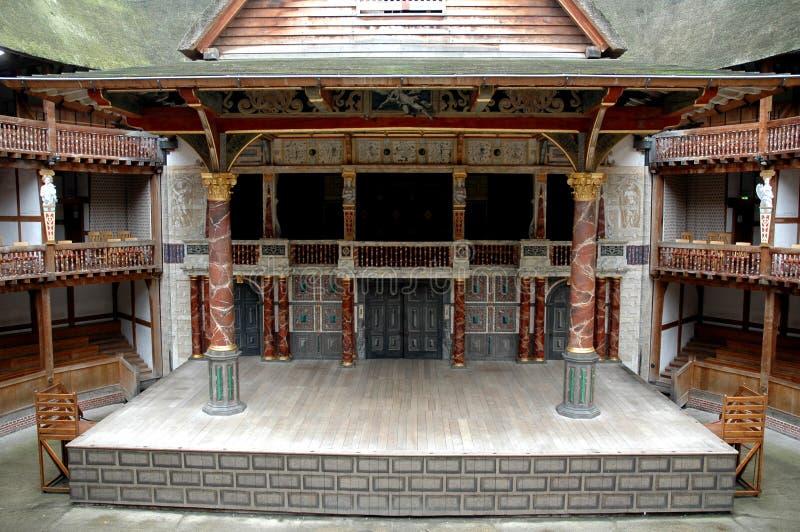 Theater 3 van de bol royalty-vrije stock fotografie