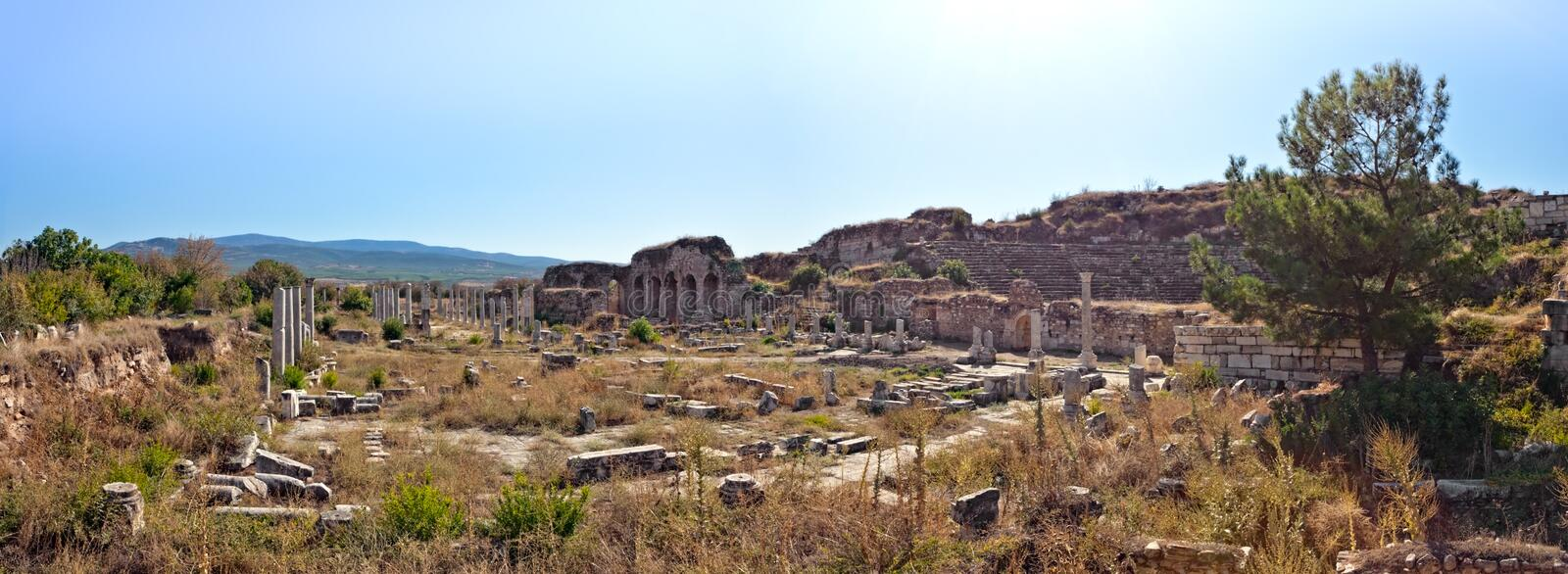 Download Theater - Aphrodisias stock image. Image of building - 22549151